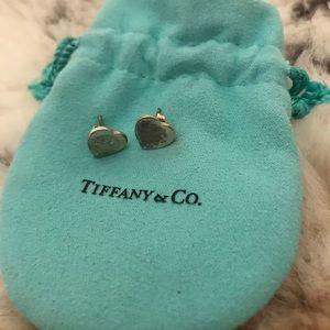 Tiffany and co heart earrings